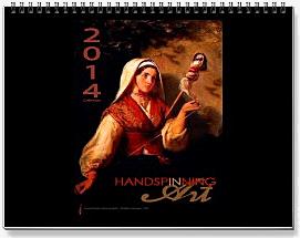 2014 Handspinning Calendar